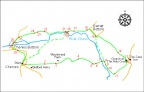 Chenies walk map